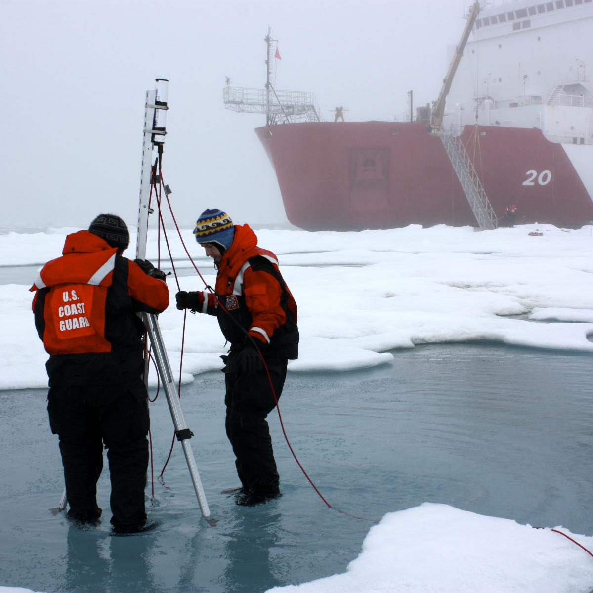 Arctic research, credit: USGS