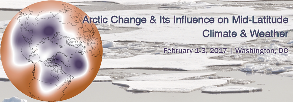 Arctic change workshop banner