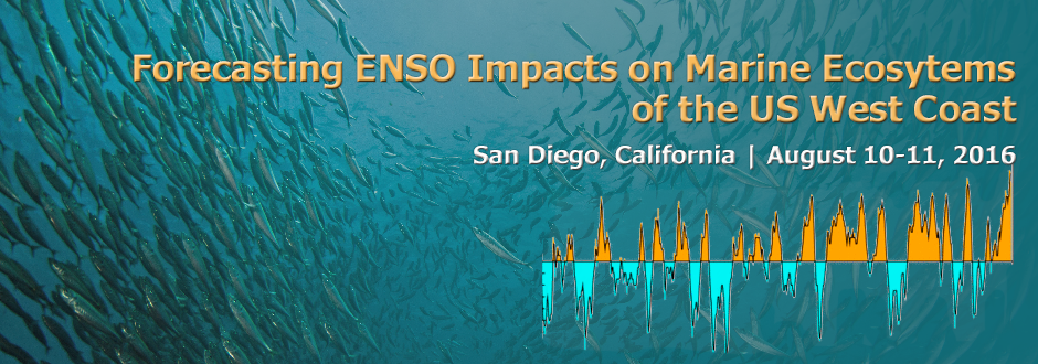 marine ecosystems and ENSO banner