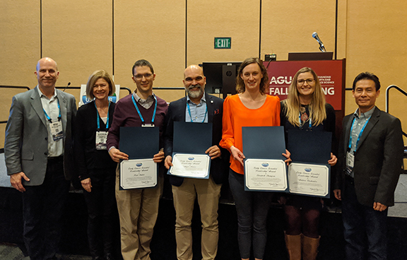 Recipients of the US CLIVAR Early Career Scientist Leadership Awards at AGU
