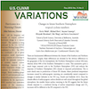 US CLIVAR Variations newsletter cover